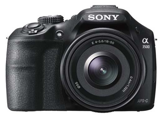 Sony A3500 Interchangeable Lens Mirrorless Camera Announced