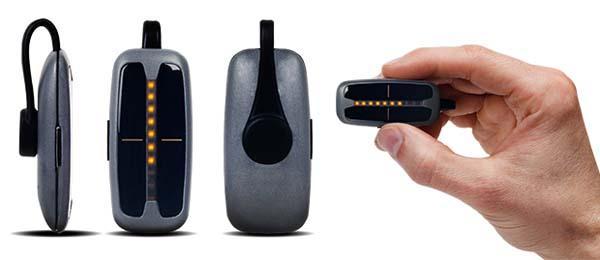 SunSprite Wearable Solar Light Tracker