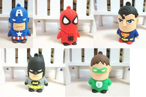 The Adorable Superhero USB Flash Drives