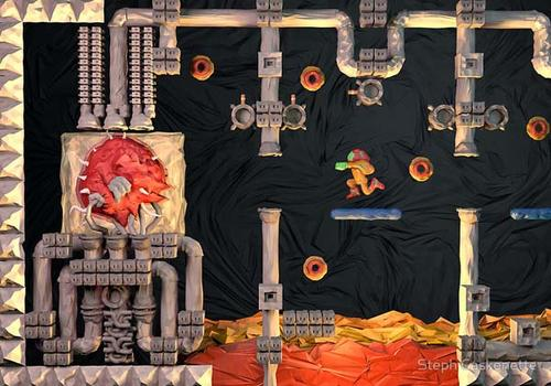The Awesome Paper Crafts Inspired by Classic Video Games
