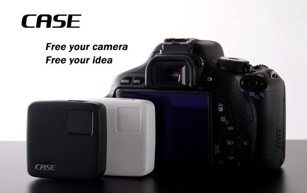 The CASE Wireless Controller for DSLR Cameras
