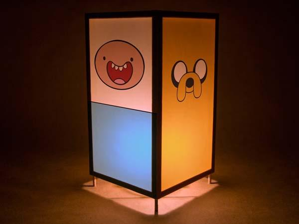 The Handmade Adventure Time Inspired Night Light