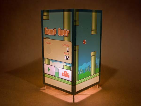 The Handmade Flappy Bird Inspired Night Light