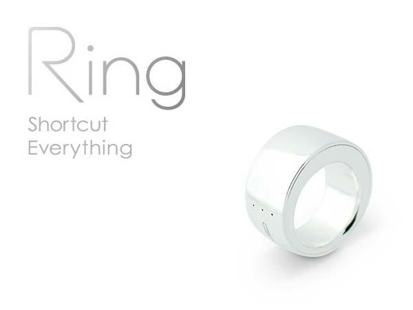 The Ring with Gesture Control, Text Transmission and Payment