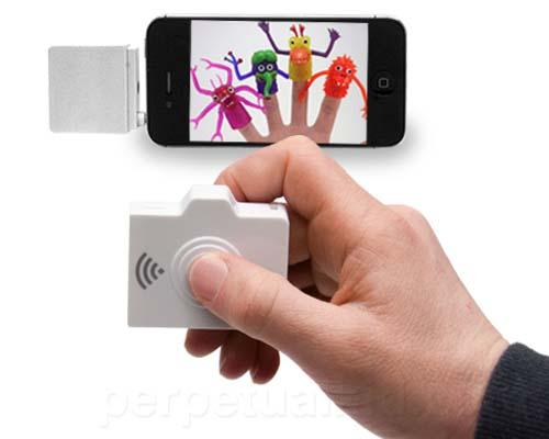 The Wireless Selfie iPhone Camera Remote Shutter
