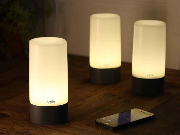 Vela App-Enabled Bluetooth LED Lantern