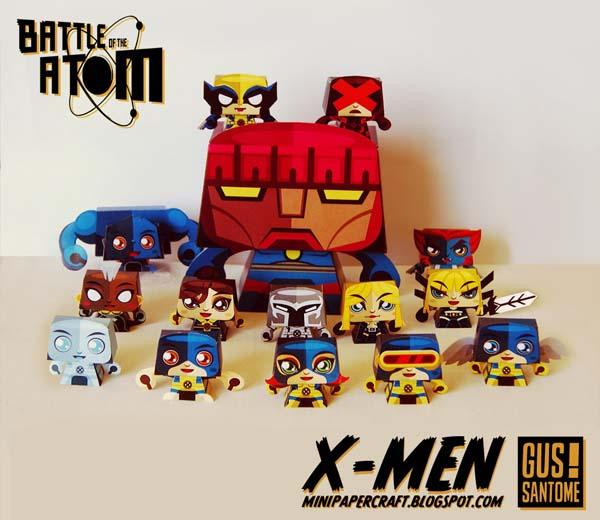 X-Men Paper Craft Collection