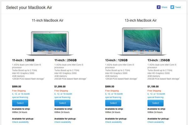 Apple Refreshed MacBook Air with $100 Price Cut