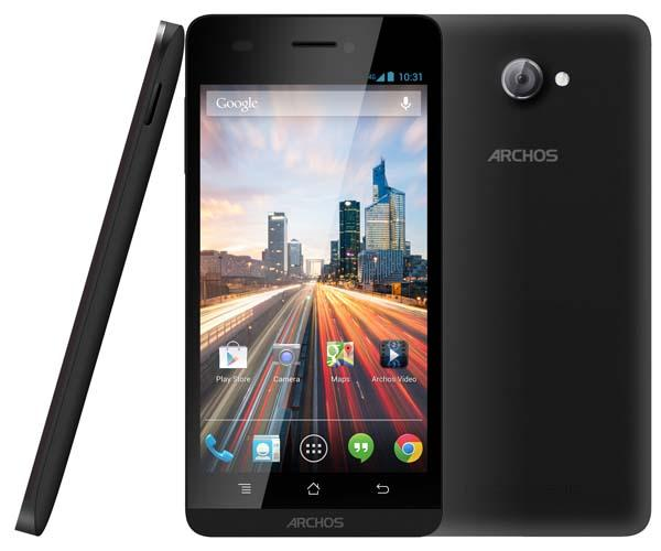 Archos 50 Helium 4G Android Phone Announced