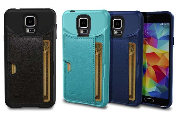 CM4 Q Card Galaxy S5 Case