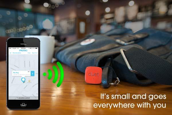 Duet Smart Bluetooth Item Finder for Your Valuables