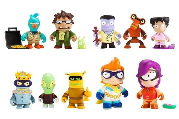 Futurama Blind Box Mini Figure Series 2