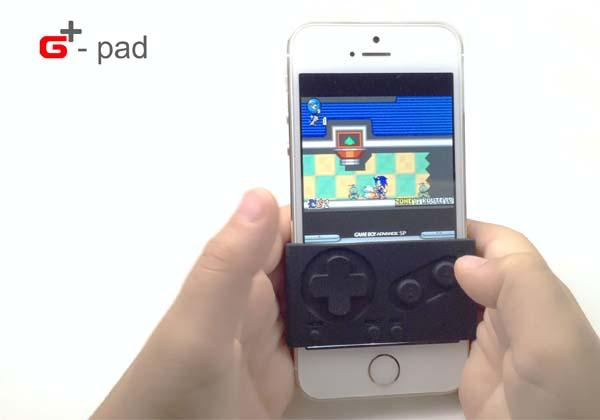 G-Pad Silicone Rubber Game Controller for iPhone, iPad Mini and iPod Touch