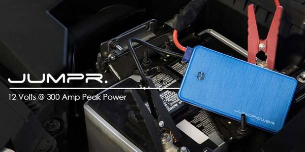 Jumpr Portable Jump Starter and Backup Battery