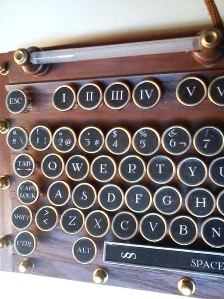 Make Your Own Steampunk Keyboard