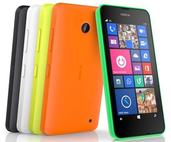 Nokia Lumia 630 and 635 Windows Phones Announced