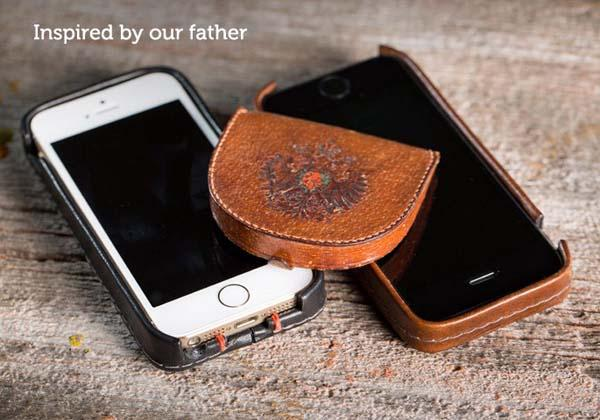 Pad&Quill Traveler Leather iPhone 5s Case