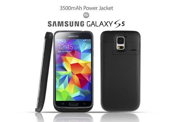 Power Jacket Galaxy S5 Battery Case