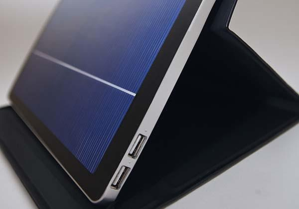 Solartab A Portable and Stylish Solar Charger