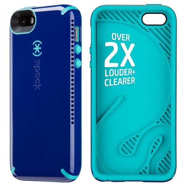 Speck CandyShell Amped iPhone 5s Case with Audio Amplifier