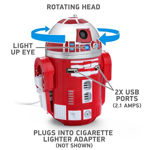 Star Wars R2-D9 USB Car Charger