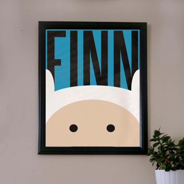 The Adventure Time Poster Collection