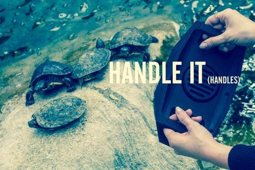 The Big Turtle Shell Bluetooth Speaker with Power Bank