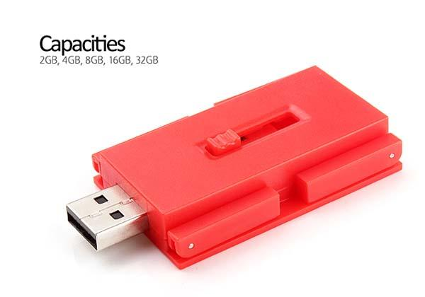 The Desk Shaped USB Flash Drive