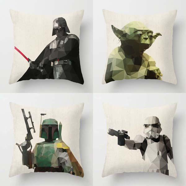 The Handmade Star Wars Pillow Covers