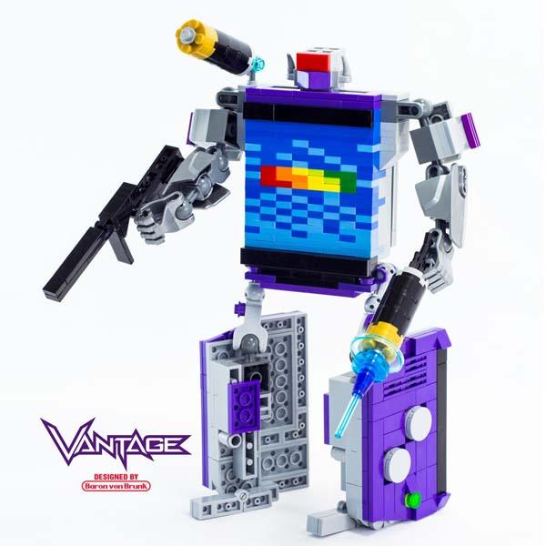The LEGO Gameboy Advance Look Like Soundwave