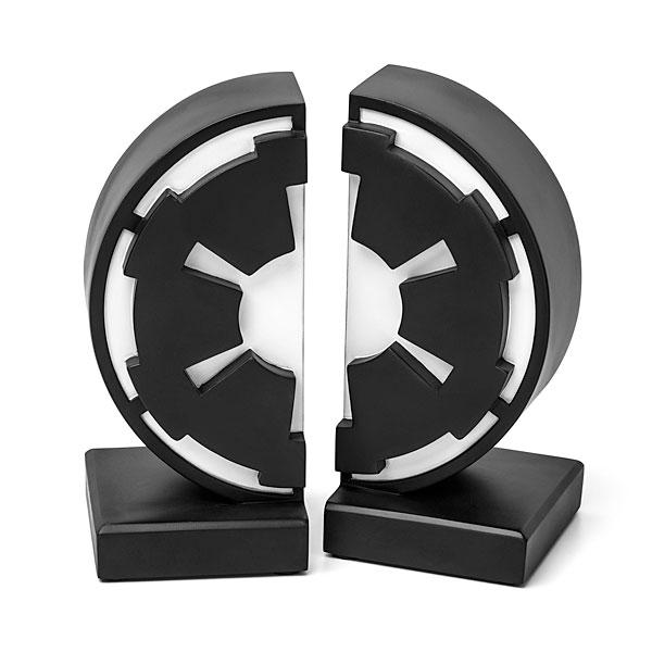 The Limited Edition Star Wars Imperial Seal Bookends