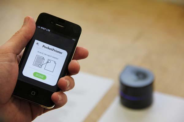 The Mini Mobile Robotic Pocket Printer