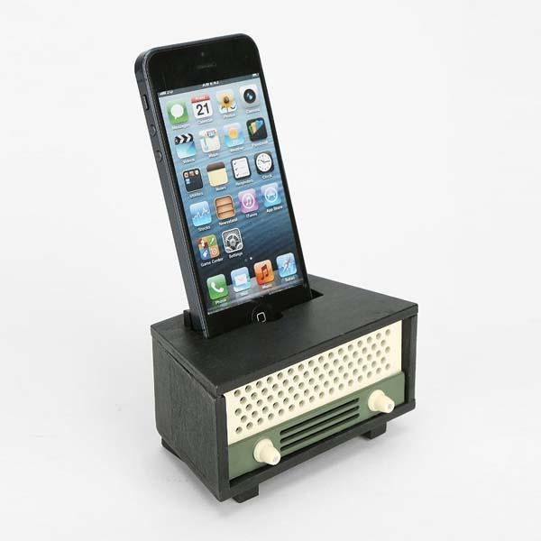 The Vintage Sound Amplifier for iPhone 5/5s