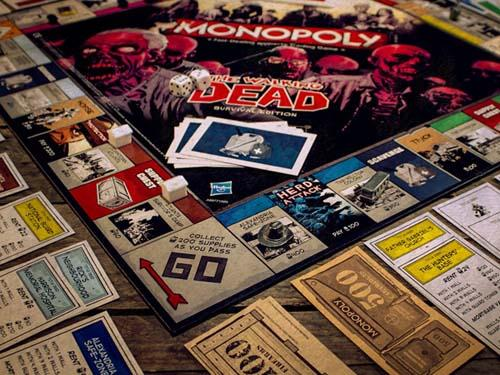 The Walking Dead Monoplay Board Game