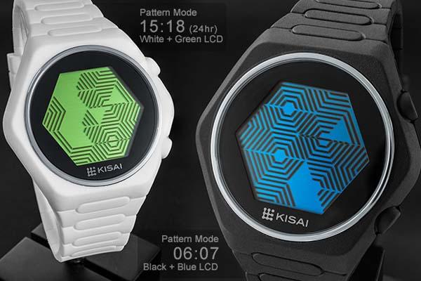 Tokyoflash Kisai Quasar Silicone LCD Watch Released