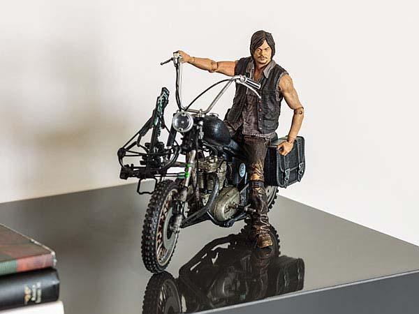 Walking Dead Daryl Dixon on Motorcycle Action Figure