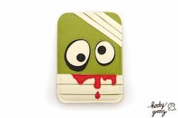 The Handmade Zombie Inspired iPad Mini Case