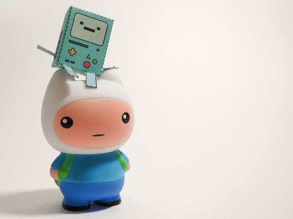 Adventure Time Finn Inspired Vinly Figure
