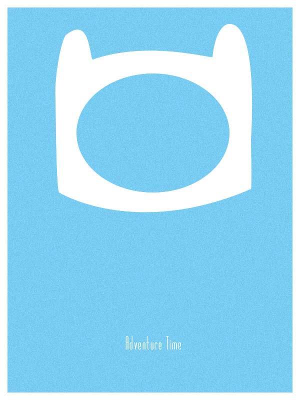 Adventure Time Minimal Posters