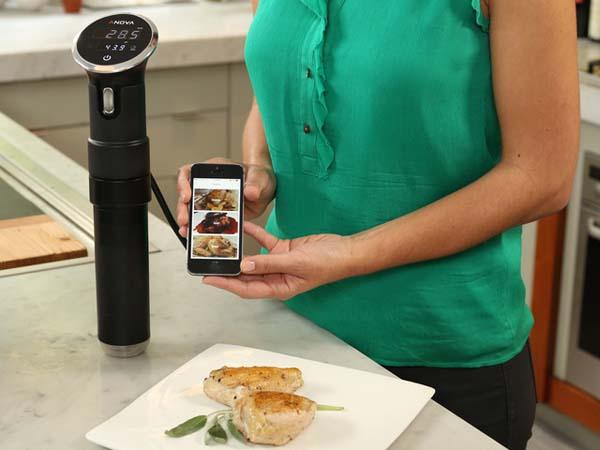 Anova Precision Cooker Lets You Cook Sous Vide with iPhone