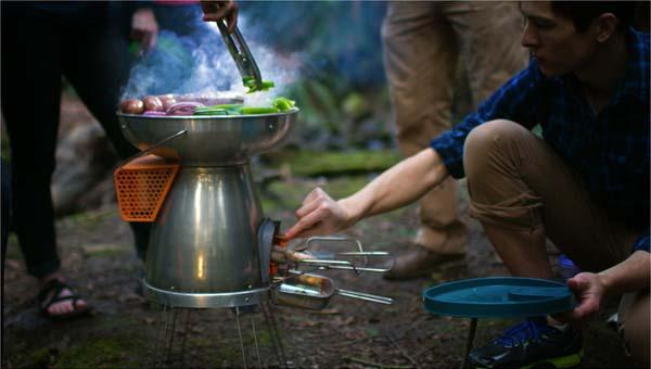 BioLite BaseCamp Stove with USB Charger