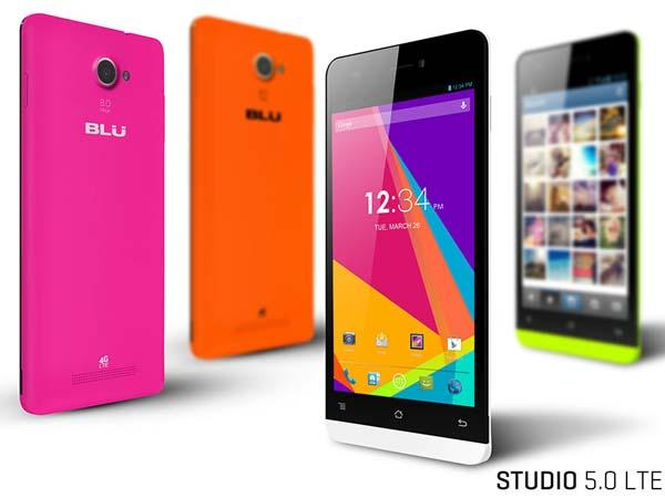 BLU Studio 5.0 LTE Smartphone Announced