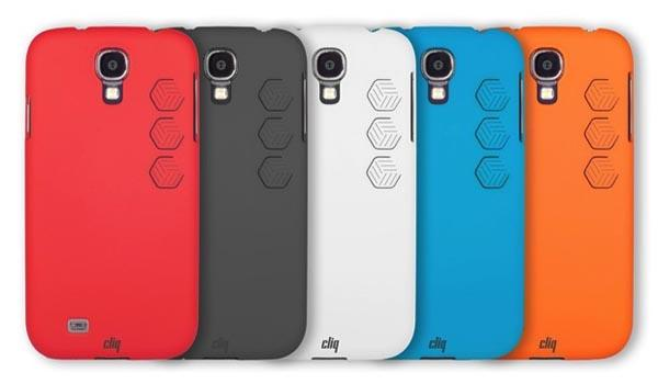 Cliq Smartphone Case with Shortcut Buttons for Android