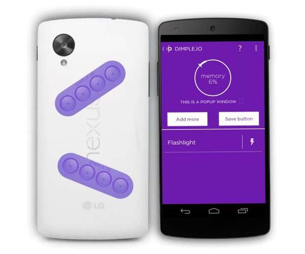 DIMPLE Android NFC Buttons for Smartphones