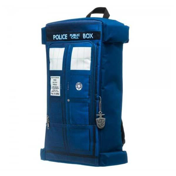 Doctor Who TARDIS Die Cut Backpack