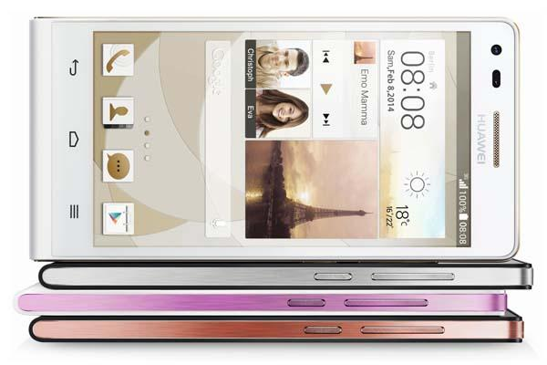 Huawei Ascend P7 Android Phone Launched