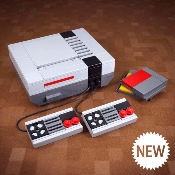 Nintendo NES Game Console LEGO Set
