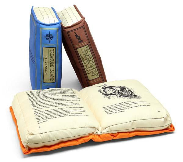 Olde Book Pillows Classics Let You Dream in Classic Tomes