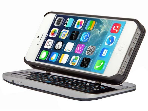 Poetic Shift iPhone 5s Case with Detachable Bluetooth Keyboard