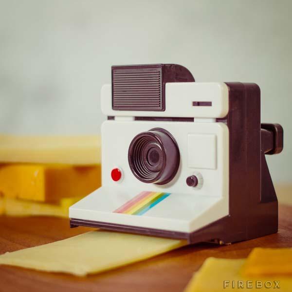 Polaroid Instant Camera Styled Cheese Slicer